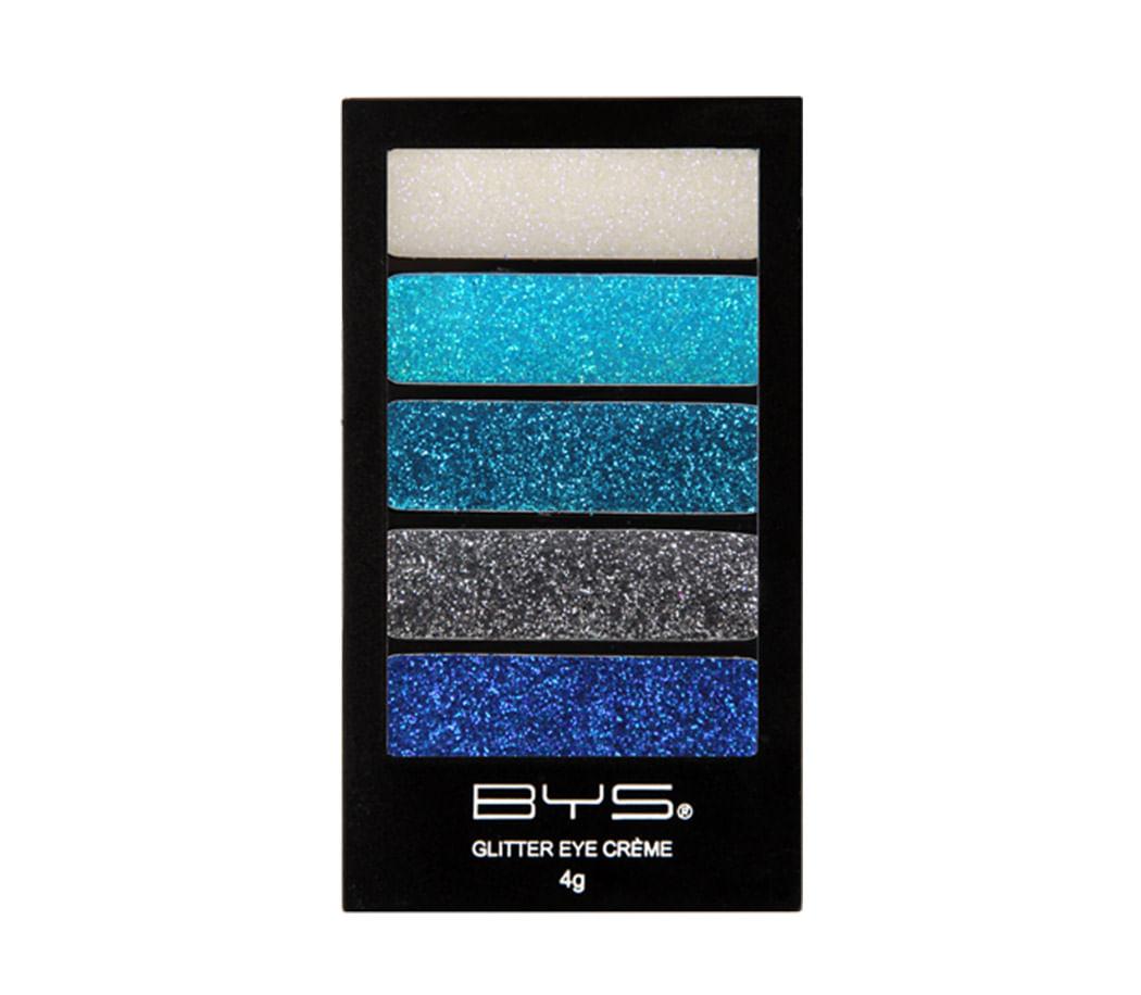 Paleta de Sombras Glitter eye Creme Platinum Blues