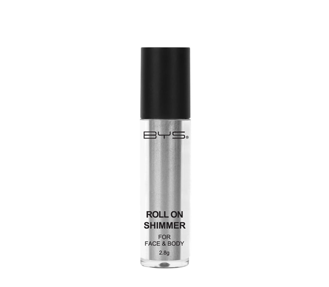 Sombras Roll on Shimmer Face Body Electric Silver
