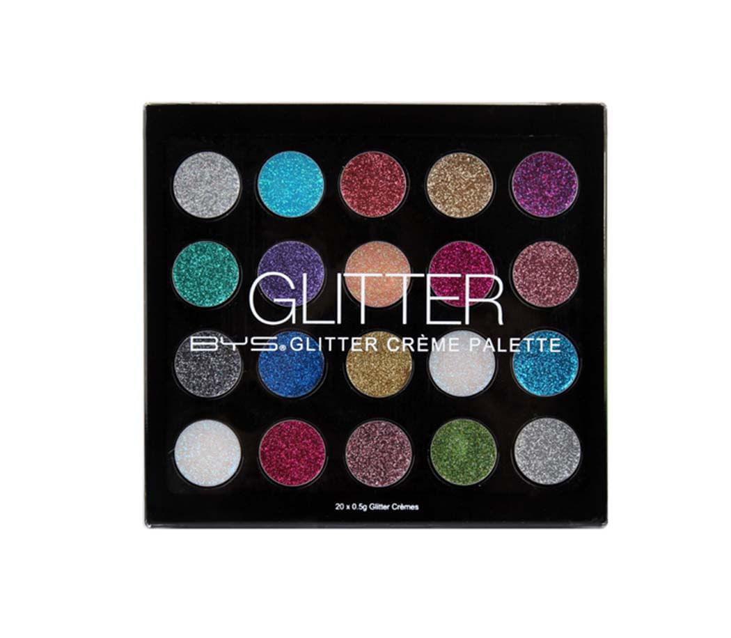 Paleta de Sombras Glitter Creme 20 Tonos