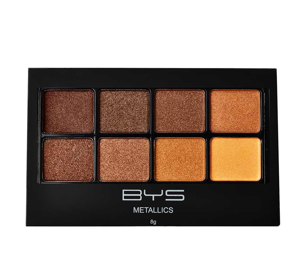 Paleta de Sombras 8 Tonos Metallics Browns