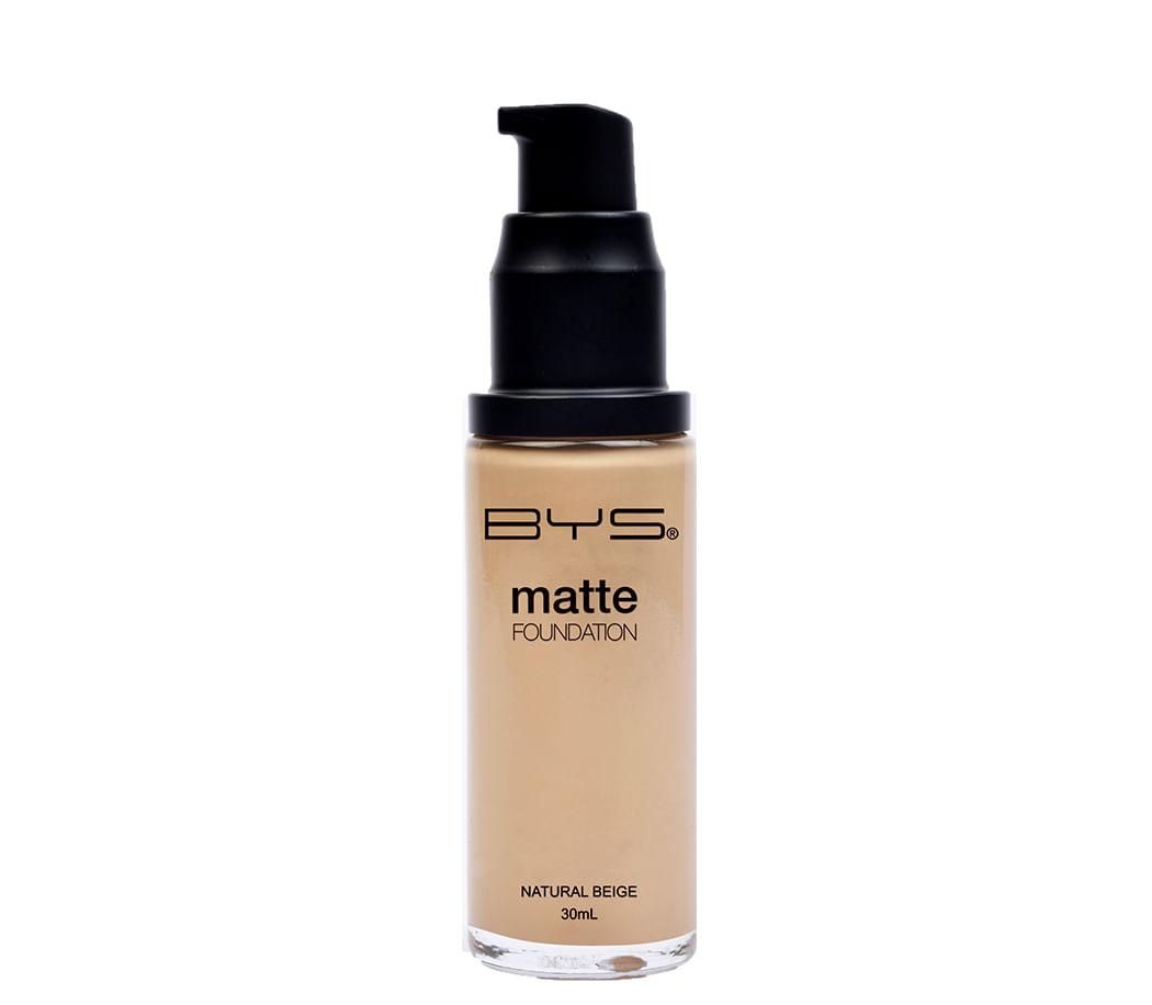 Base Liquida Pump Matte Natural Beige