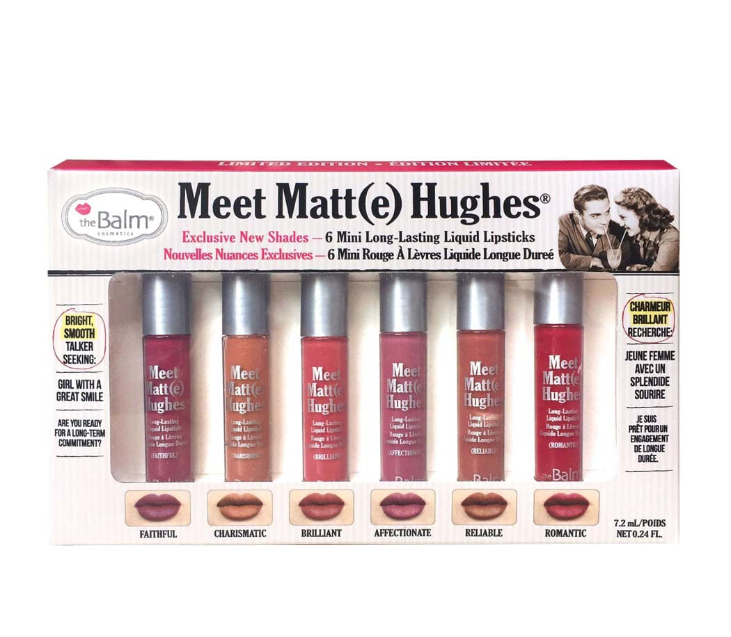 kit Labiales Meet Matte Hughes vol 2 7 2 ml