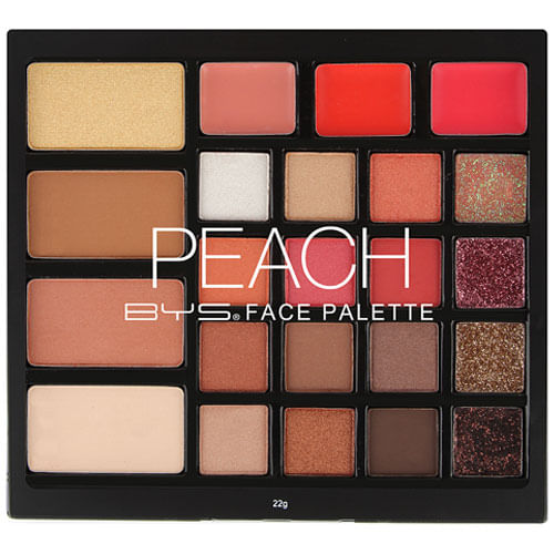Face Palette Peach bys 23pc