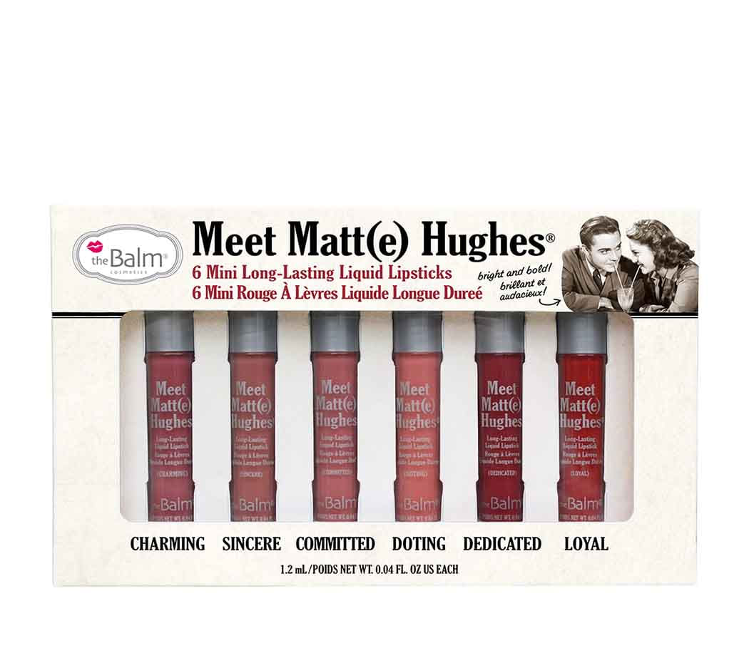 kit Labiales Meet Matte Hughes vol 1 7 2 ml