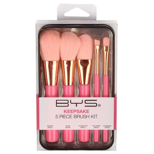 Brochas Makeup in Keepsake 5 Piezas Peach