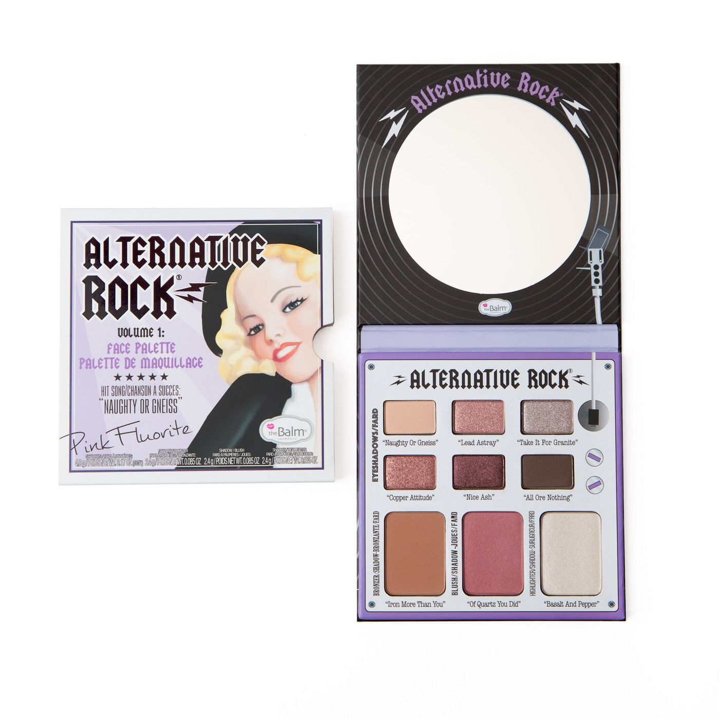 Paleta Sombras the Balm Alternative Rock vol 1