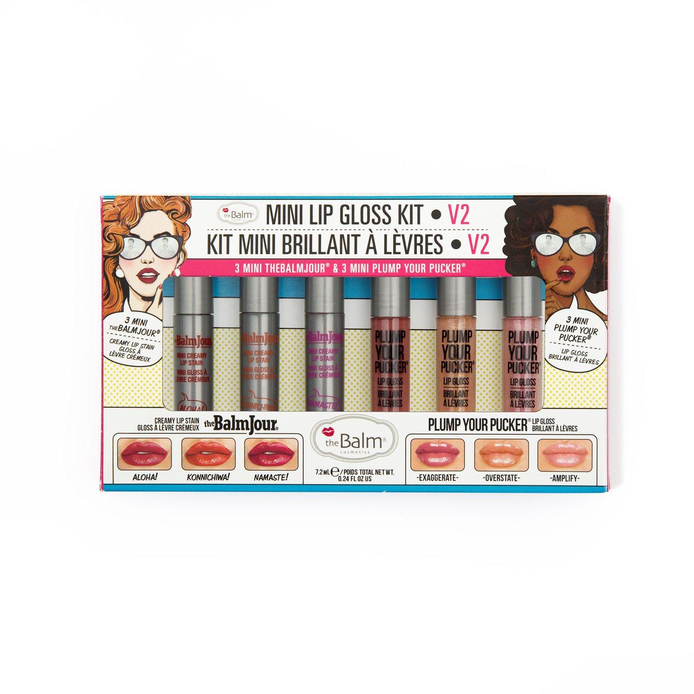 kit Labiales Mini lip Gloss vol 2 7 2 ml