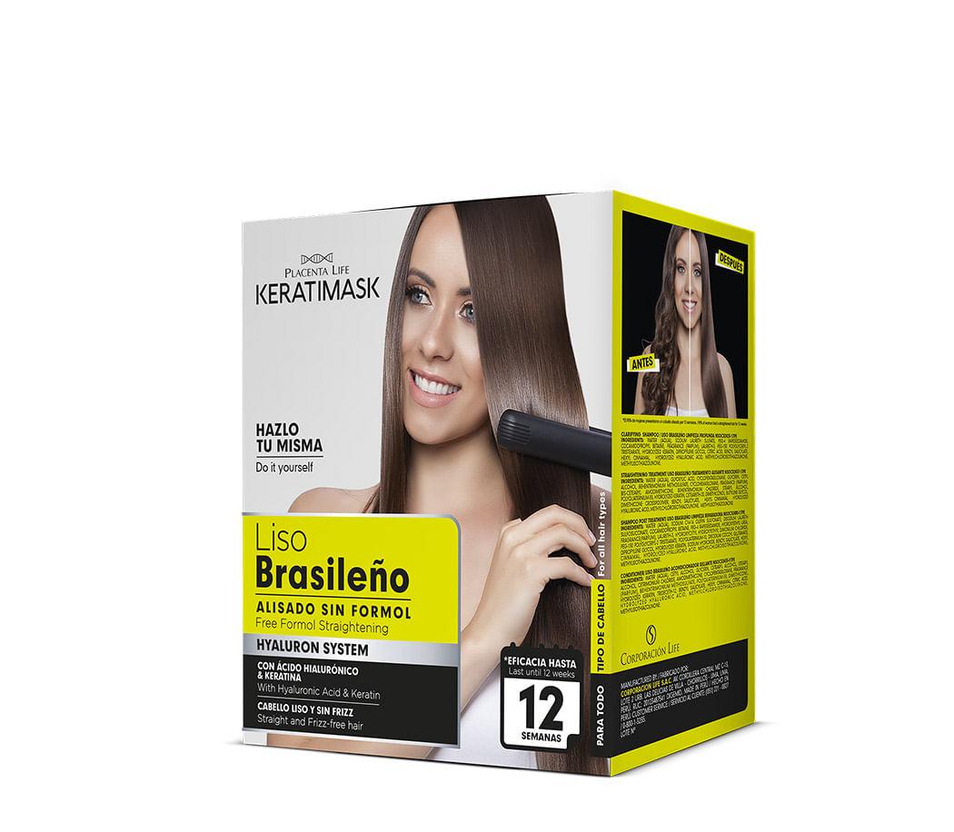 kit Liso Brasileno Keratimask