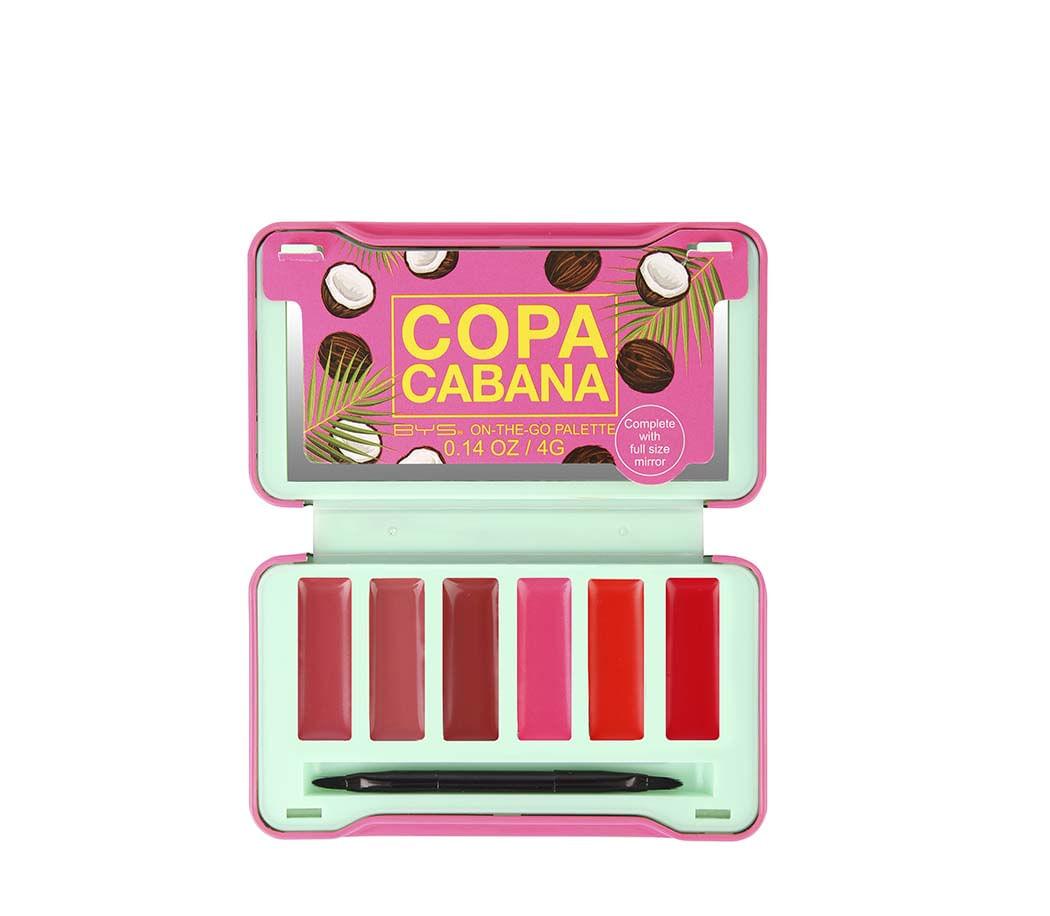 Paleta Para Labios on the go 6 Tonos Copacabana