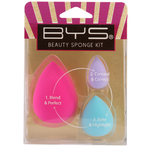 kit de Esponjas Beauty Sponge x 3 un