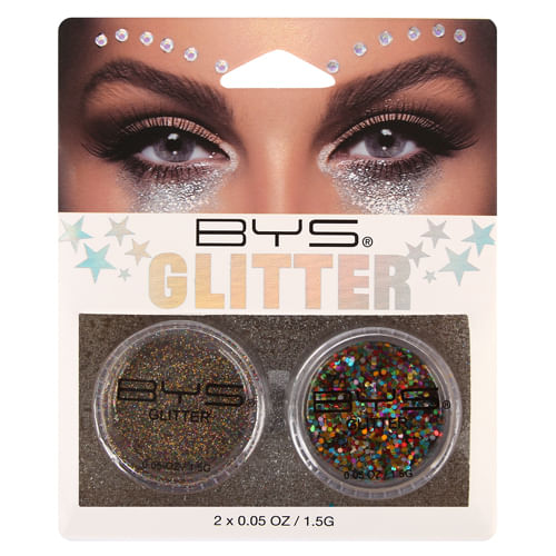 Pack Loose Glitter bys Multicolor