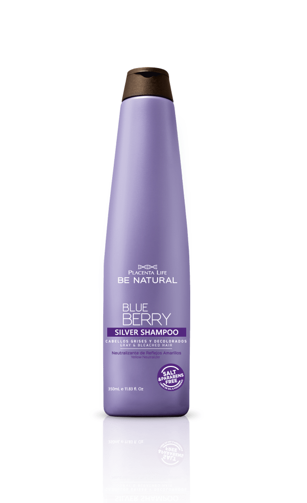 Shampoo be Natural Silver Blueberry 350ml