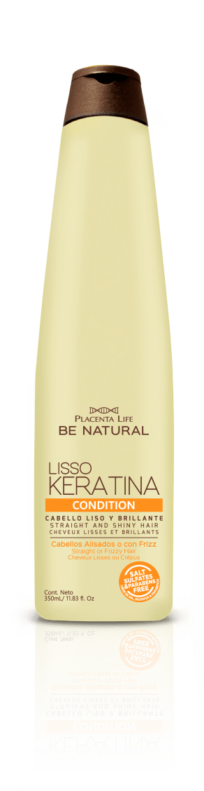 Acondicionador be Natural Liso Keratina 350ml