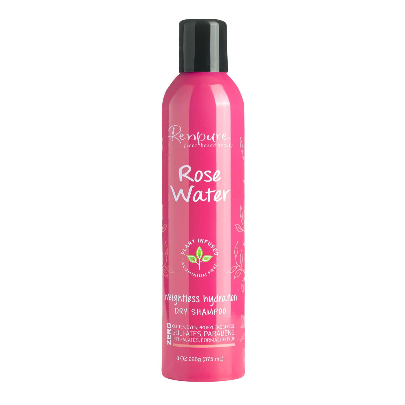 Shampoo Renpure Rose Water dry 8oz