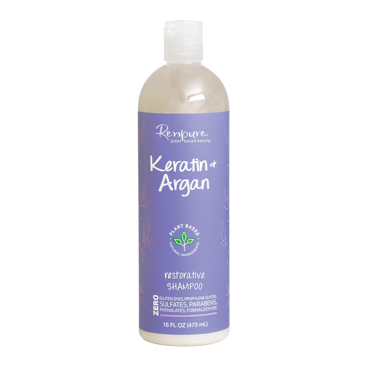 Shampoo Renpure Keratin Argan 16oz