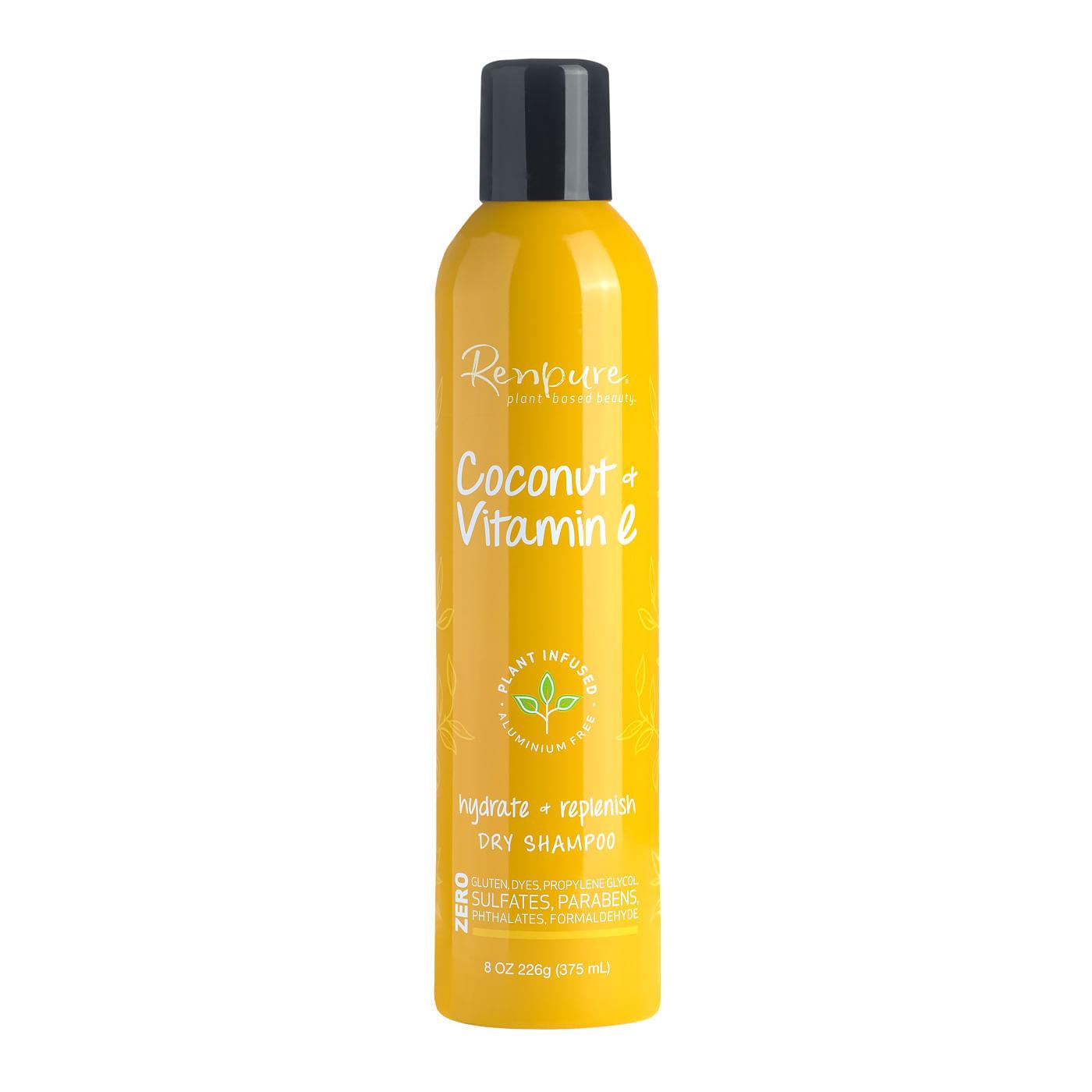 Shampoo Renpure Coconut Vitamin e dry 8oz