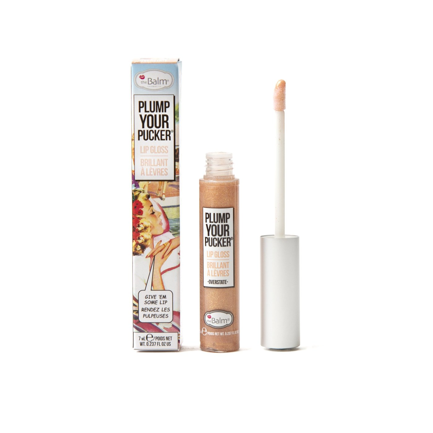 Brillo Labial Plump Your Pucker 7 ml Overstate
