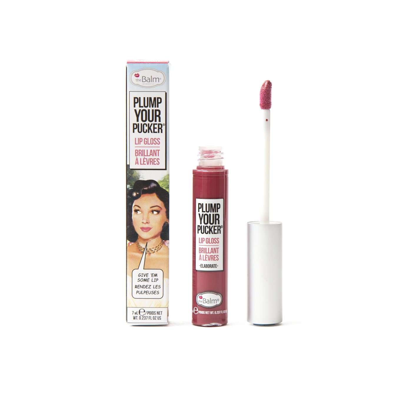 Brillo Labial Plump Your Pucker 7 ml Elaborate