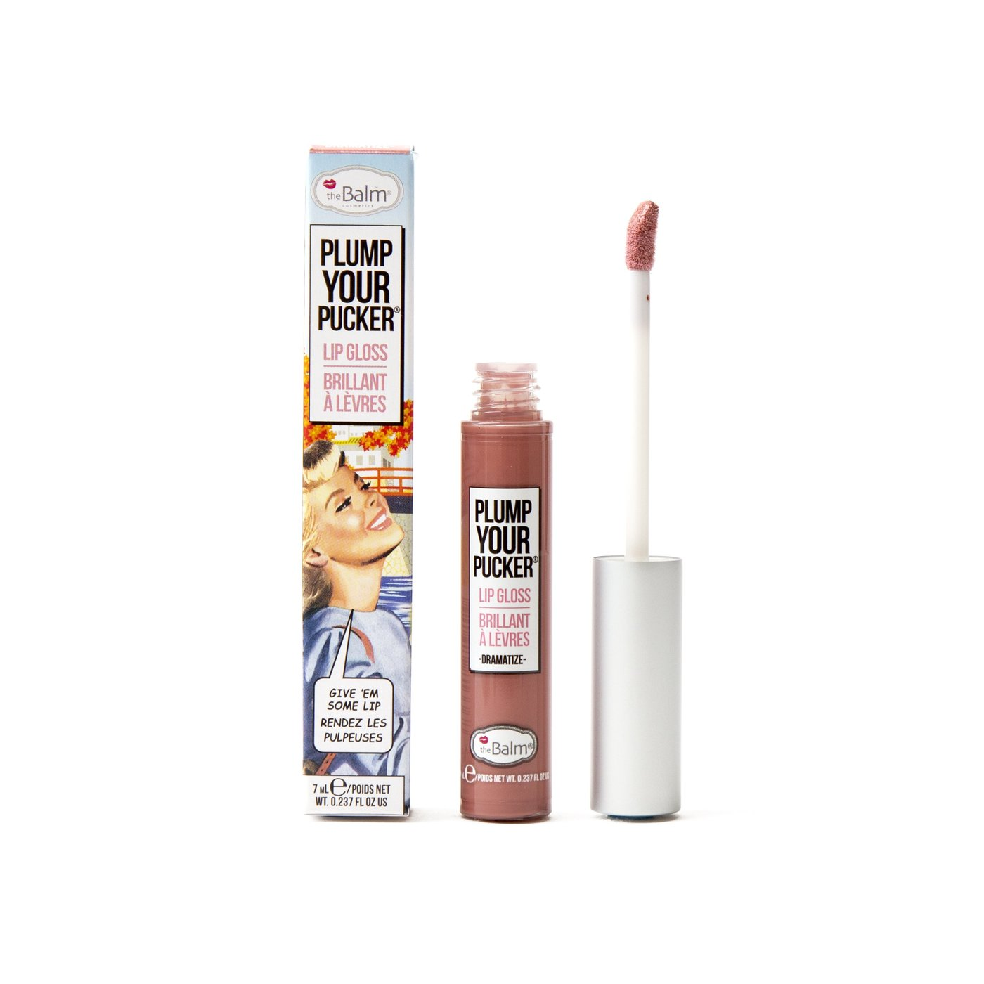 Brillo Labial Plump Your Pucker 7 ml Dramatize