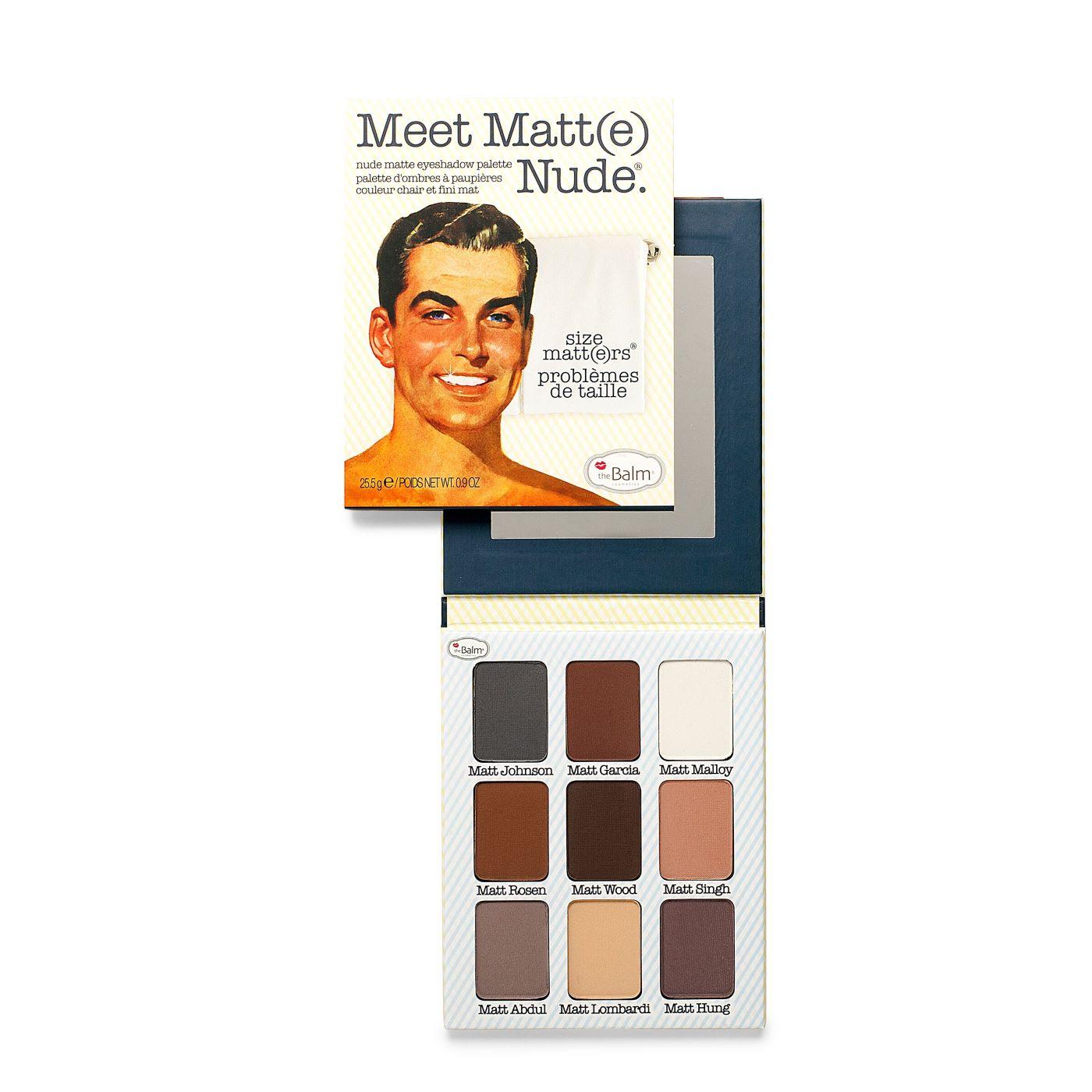 Paleta Sombras Meet Matt e Nude 25 5 g