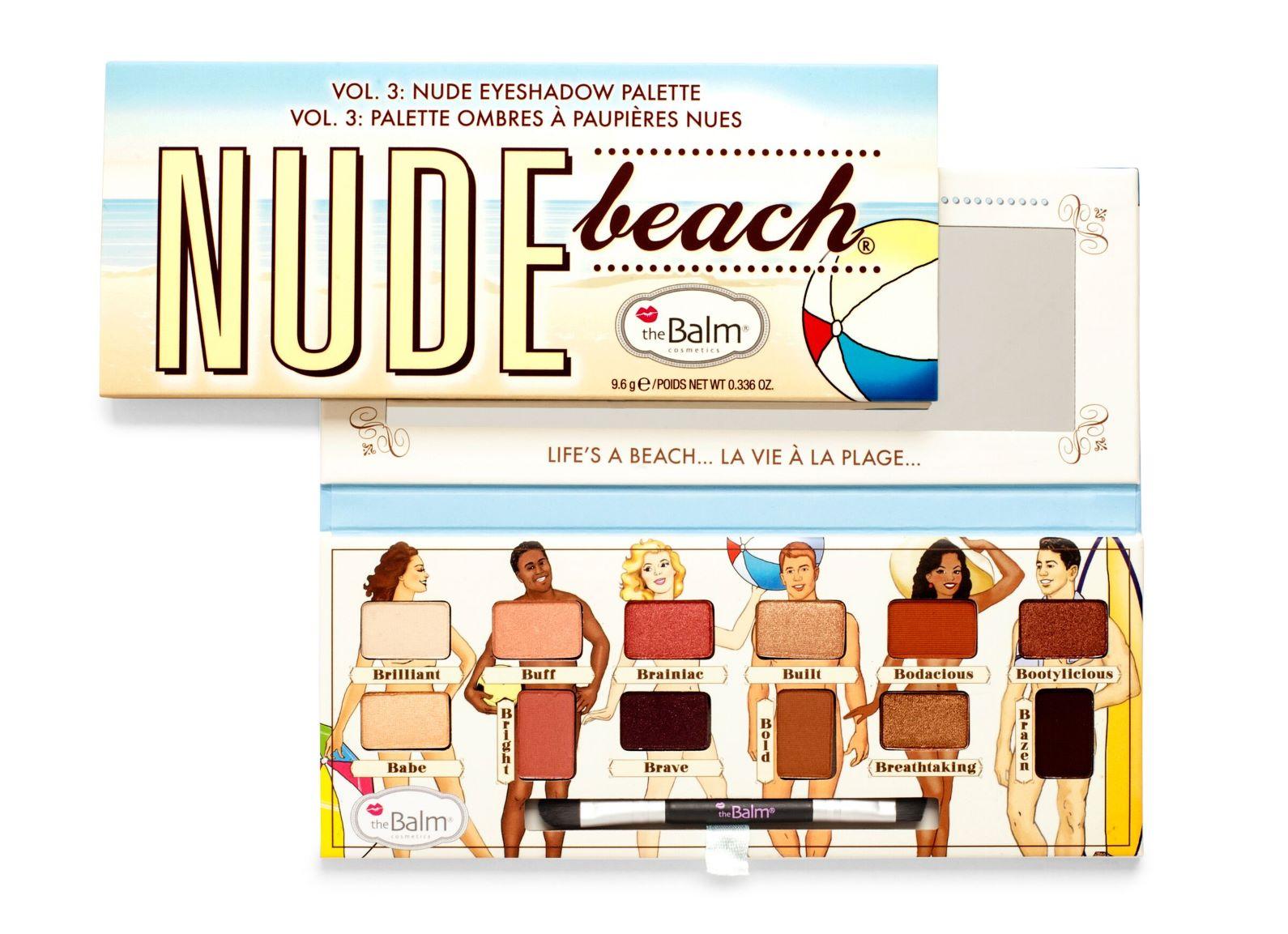 Paleta Sombras Nude Beach 9 6 g