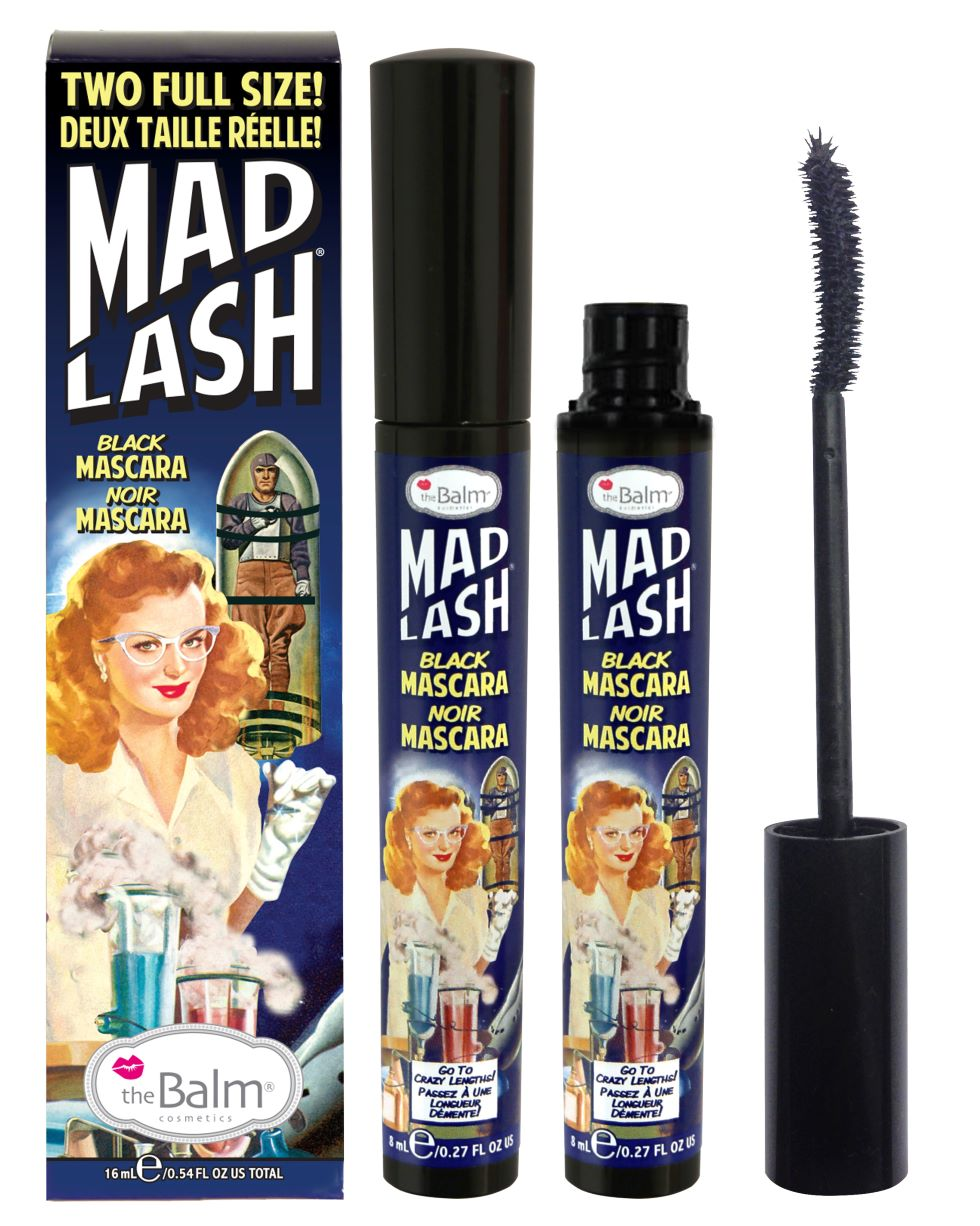 kit Pestañina mad Lash duo 16 ml Black
