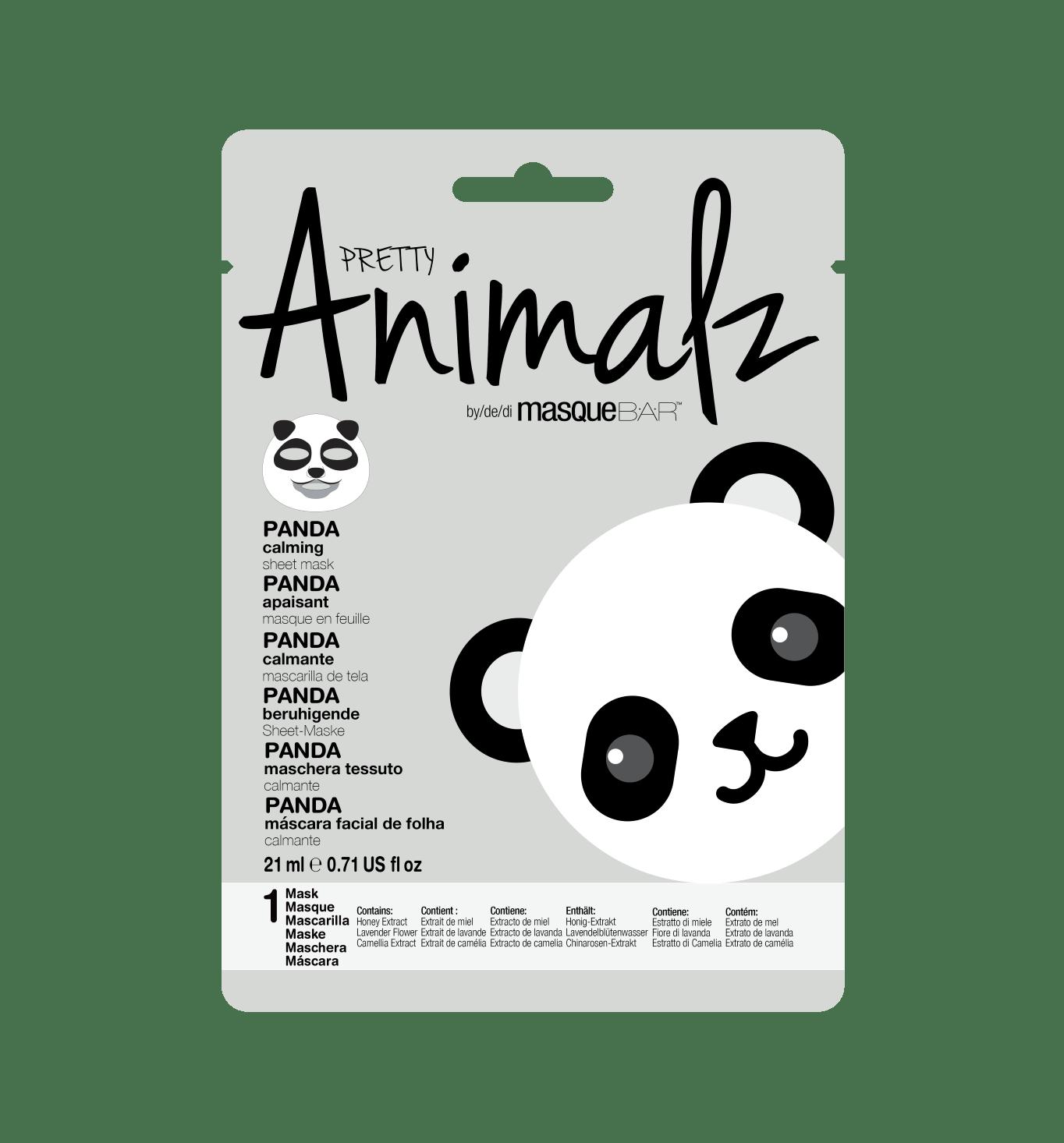 Mascarilla Pretty Animalz Panda