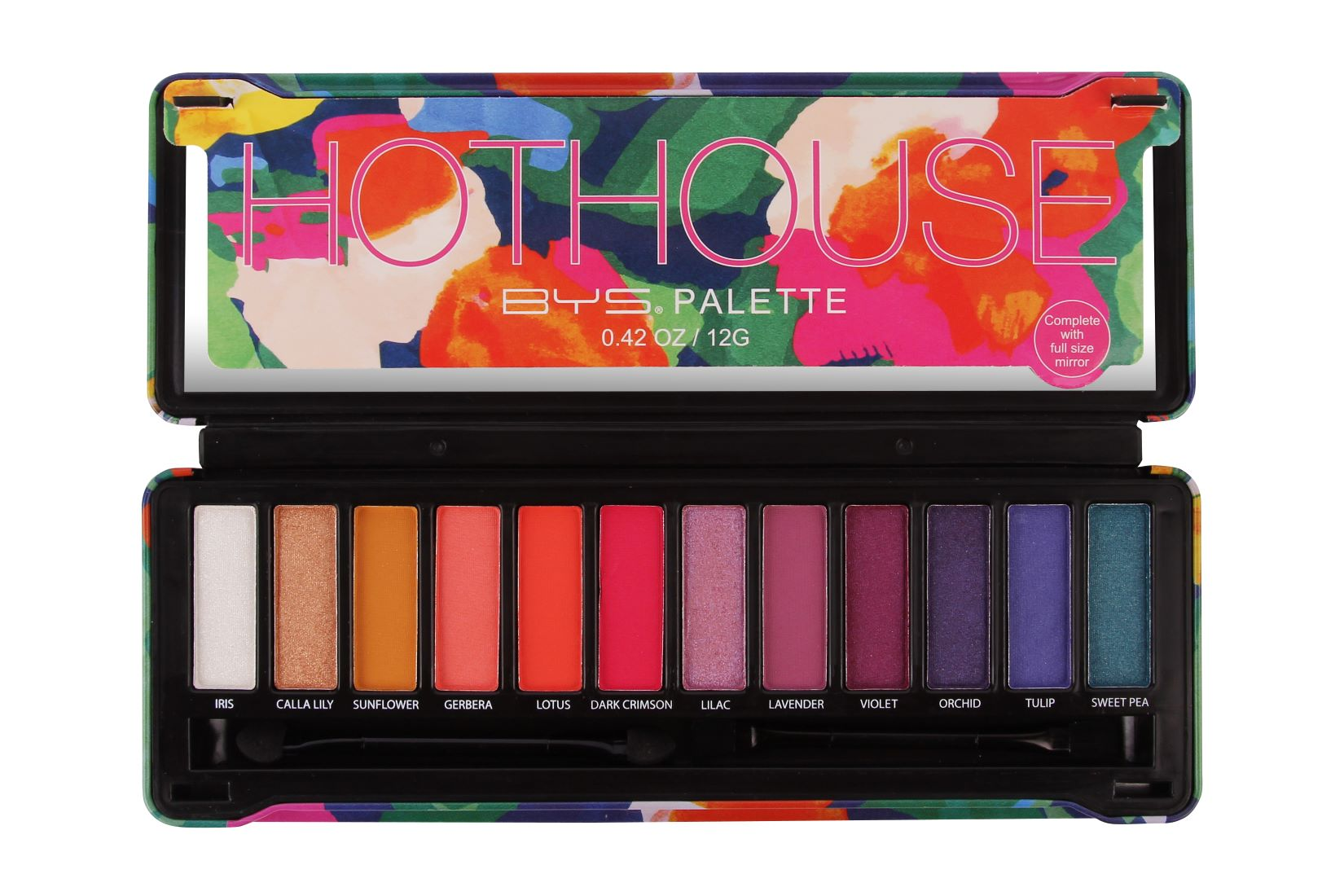 Paleta de Sombras 12 Tonos hot House